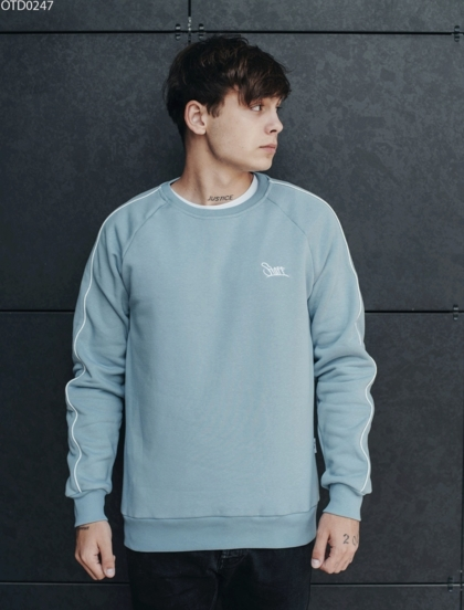 Свитшот Staff logo blue fleece