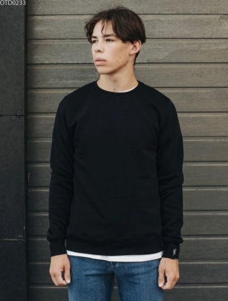 Свитшот Staff basic black fleece