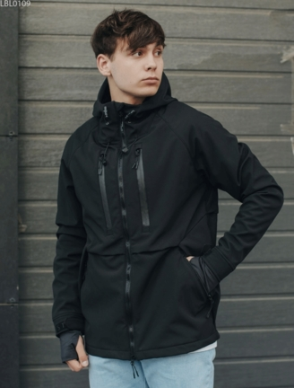 Куртка Staff soft shell kari black