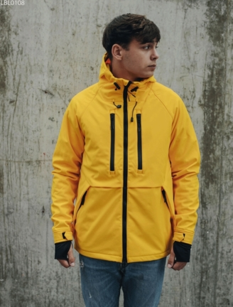 Куртка Staff soft shell kari yellow