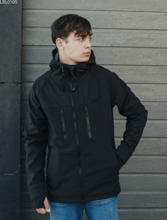 Куртка Staff soft shell black