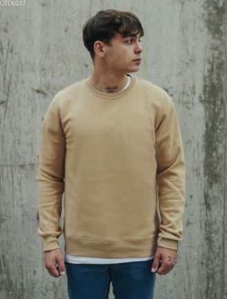 Свитшот Staff basic beige fleece