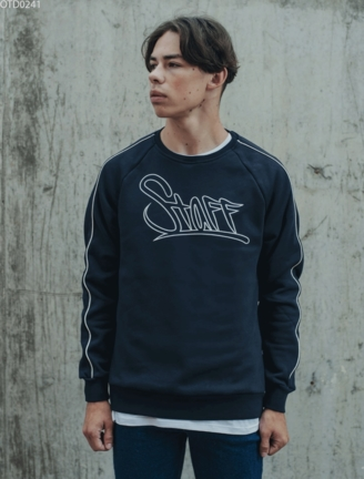 Світшот Staff logo navy fleece