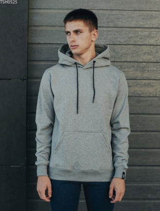 Толстовка Staff gray basic fleece