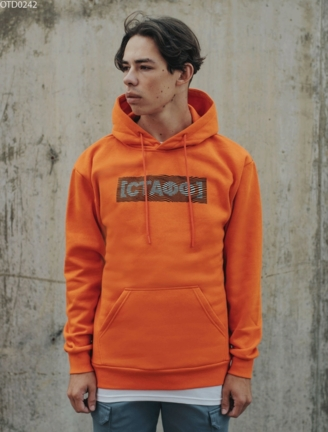 Толстовка Staff orange logo fleece