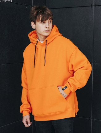 Толстовка Staff orange basic fleece overs