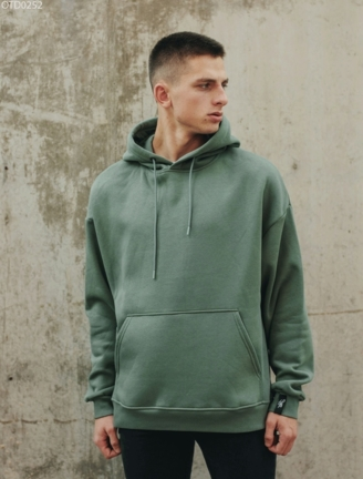 Толстовка Staff green basic fleece overs