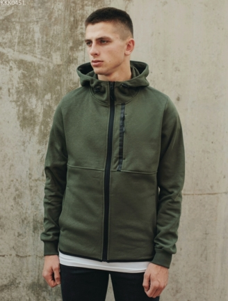Толстовка Staff zip2 khaki fleece