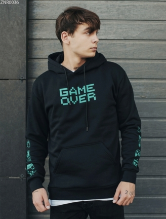 Толстовка Staff game over fleece