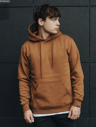 Толстовка Staff brown basic fleece