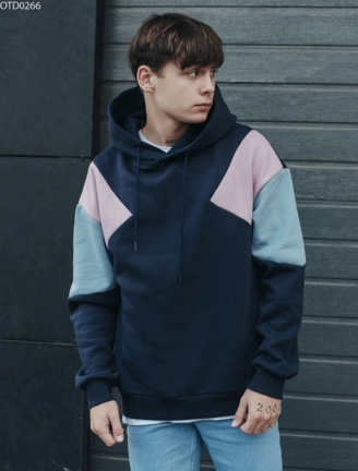 Толстовка Staff colorblock c1 fleece