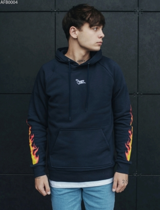 Толстовка Staff fire logo fleece