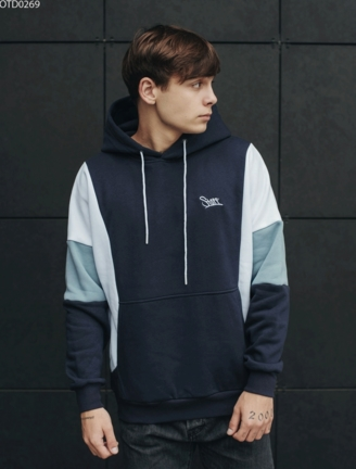 Толстовка Staff colorblock c2 logo fleece