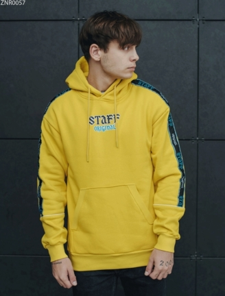 Толстовка Staff yellow original fleece