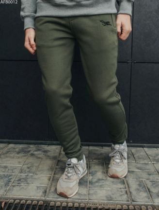 Спортивні штани Staff khaki logo fleece