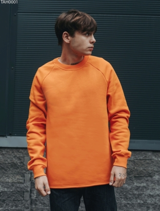 Свитшот Staff orange fleece