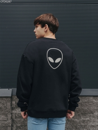 Свитшот Staff logo reflective fleece