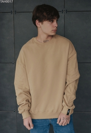Світшот Staff basic beige overs