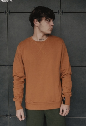 Свитшот Staff brown basic