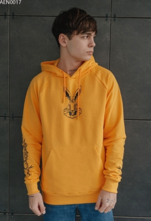 Толстовка Staff rabbit yellow