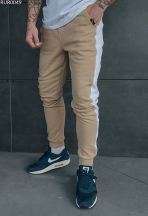 Спортивные штаны Staff original beige