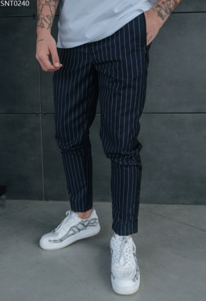 Штани Staff striped navy
