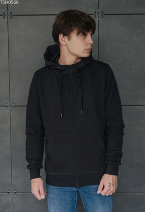 Толстовка Staff black basic zip