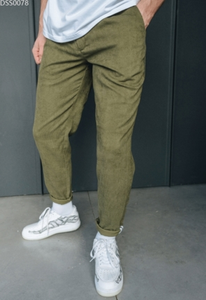 Штаны Staff velvet khaki