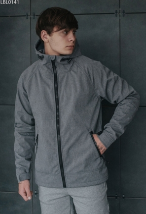 Куртка Staff soft shell nort gray2