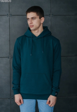 Толстовка Staff green basic