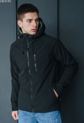 Куртка soft shell Staff lak black