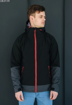 Куртка Staff soft shell nort black
