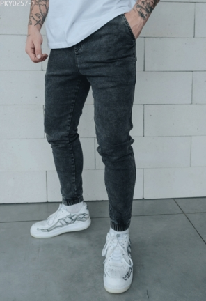Джоггеры Staff jeans gray slim