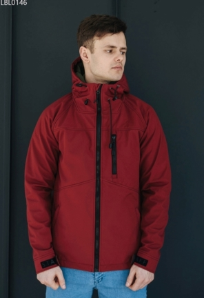 Куртка soft shell Staff lak red
