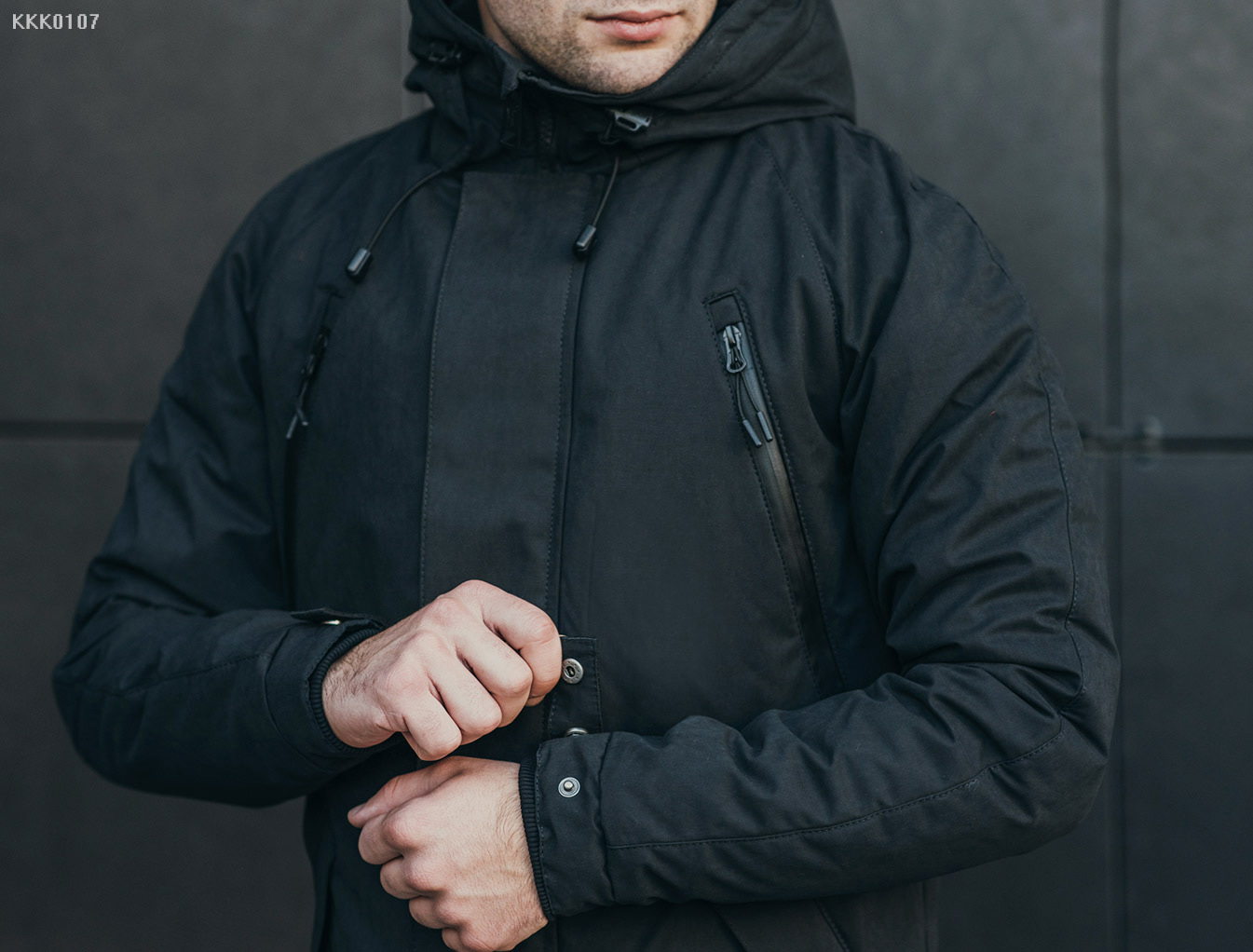 Зимняя парка Staff craft black