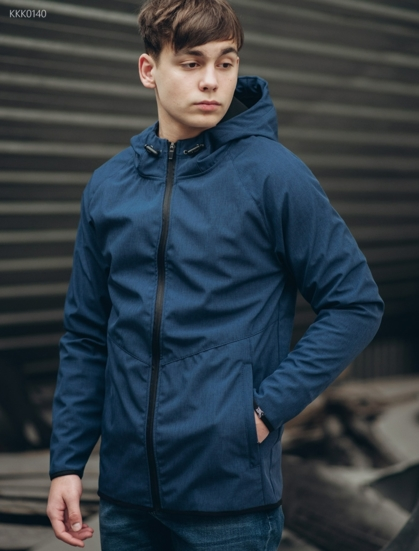 Куртка Staff soft shell RAN navy melange