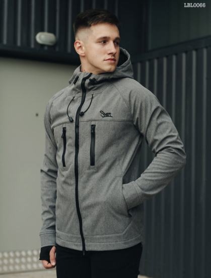 Куртка Staff softshell gray