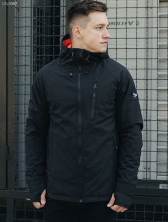 Куртка Staff softshell Solar black