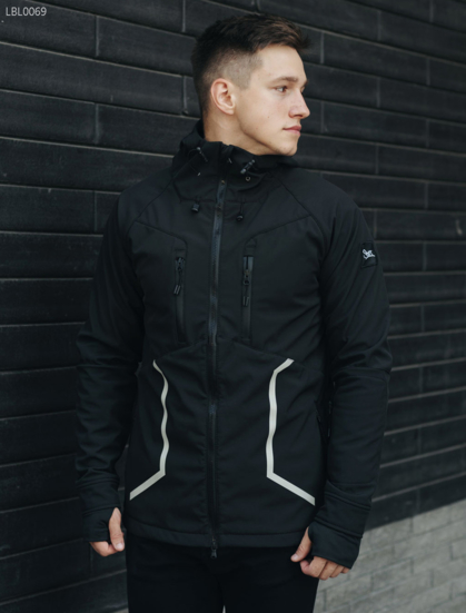 Куртка Staff softshell black line