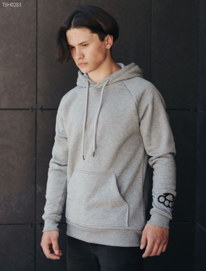 Толстовка Staff gray fist fleece