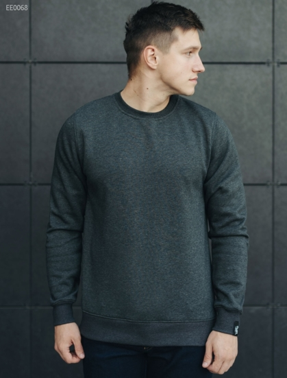 Свитшот Staff grafit fleece basic