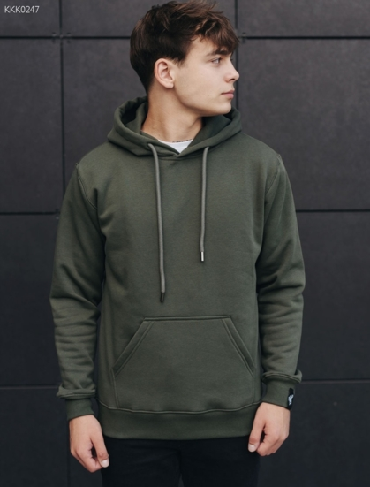 Толстовка Staff haki2 basic fleece