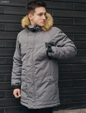 Зимняя парка Staff eco gray