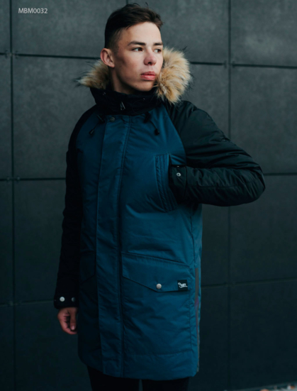 Зимняя парка Staff climat navy and black
