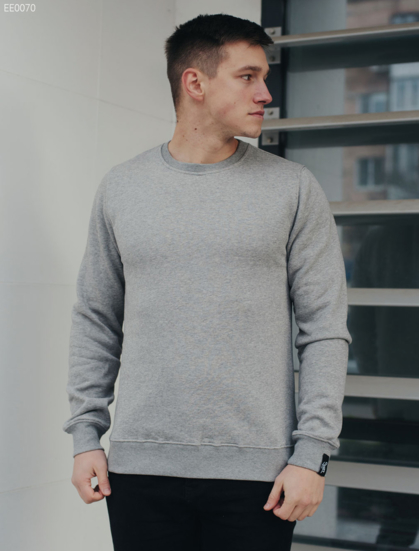 Свитшот Staff gray basic fleece