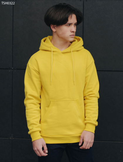 Толстовка Staff yellow basic fleece