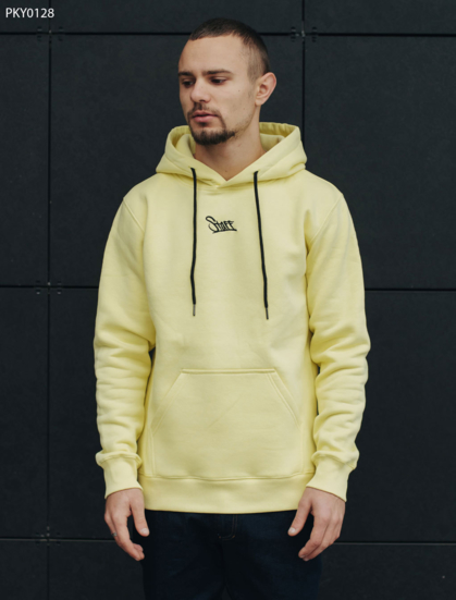Толстовка Staff logo yellow fleece