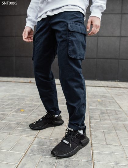Штаны Staff navy Cargo regular fit