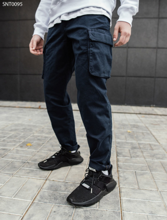 Штани Staff navy Cargo regular fit