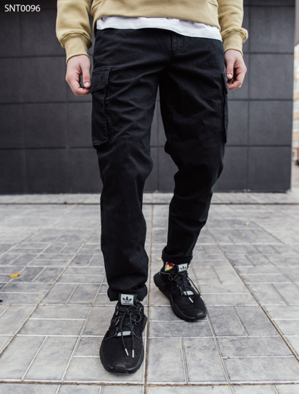 Штаны Staff black Cargo regular fit